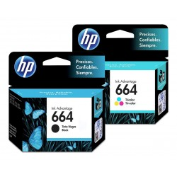 HP 664 Negro - Color