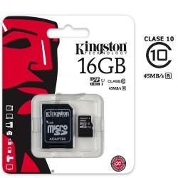 Memoria SD 16 GB Clase 10...