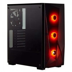 Gabinete Gamer Carbide Spec...