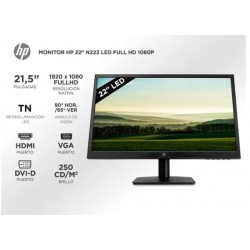 "Monitor 22"" LCD HP N223 HDMI"