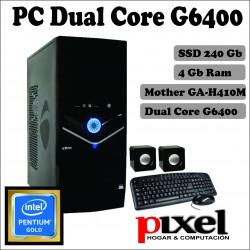 PC CX Intel Dual Core G6400...
